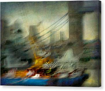 Canvas Print featuring the photograph Cityscape #28 by Alfredo Gonzalez