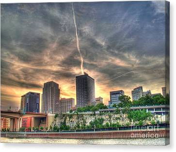 Cityscape Canvas Print by Jimmy Ostgard