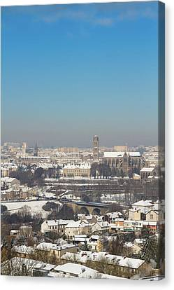 Cityscape Of Limoges Canvas Print by I hope you'll like it
