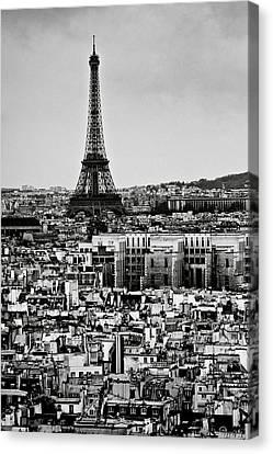 Cityscape Of Paris Canvas Print by Sbk_20d Pictures