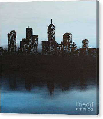 Cityscape One Canvas Print