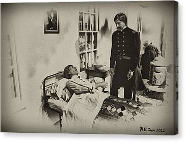 Civil War Hospital Canvas Print by Bill Cannon
