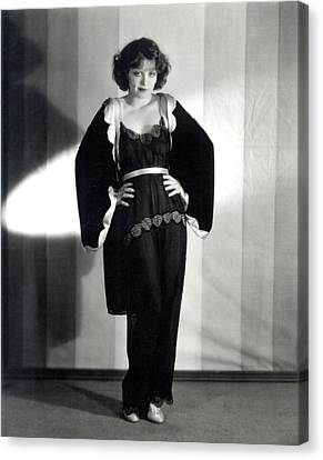 Clara Bow, Around 1929 Canvas Print by Everett