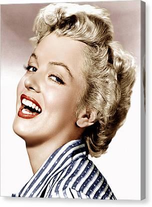 Clash By Night, Marilyn Monroe, 1952 Canvas Print by Everett