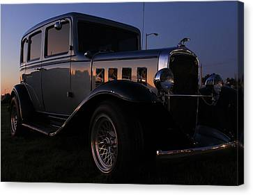 Antique Automobiles Canvas Print - Classic Chevrolet by Scott Hovind