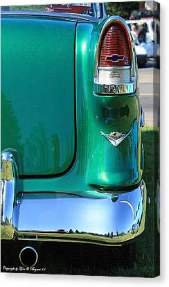 Canvas Print featuring the photograph Classic Chevy by Tyra  OBryant