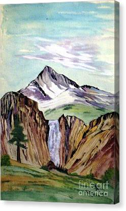 Classic Cliffs Of Splendor Canvas Print