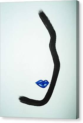 Classic Cobalt Canvas Print by Joyce Carroll