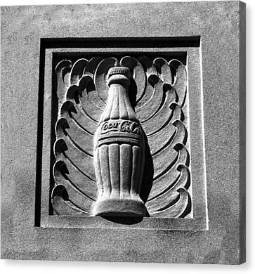 Classic Coke Circa 1920 Canvas Print by David Lee Thompson