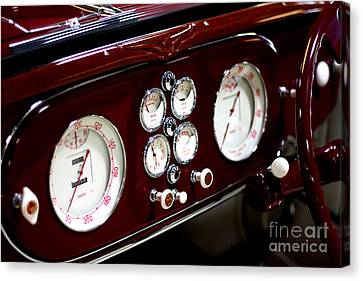 Classic Gauges Canvas Print by Jason Abando