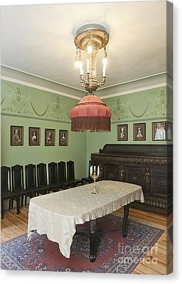 Classic Luxury Dining Room Canvas Print by Jaak Nilson