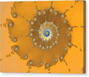 Classic Nautilus Canvas Print by Mark Greenberg