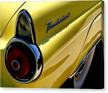Classic T-bird Tailfin Canvas Print
