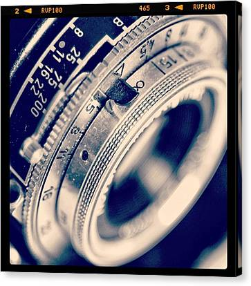 Classic Canvas Print - #classic #vintage #retro #lense #camera by Ritchie Garrod