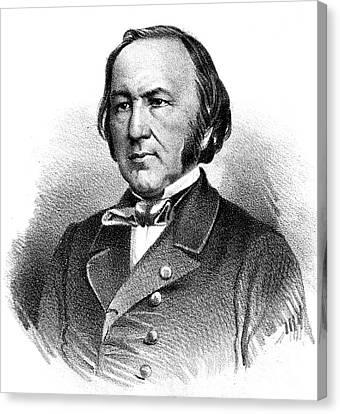 Claude Bernard, French Physiologist Canvas Print