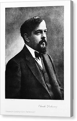 Claude Debussy, French Composer Canvas Print by Photo Researchers