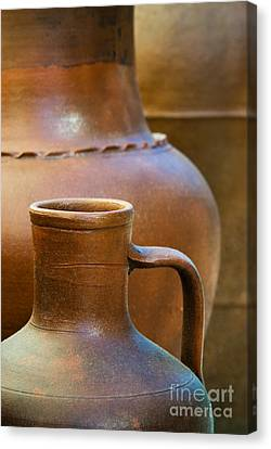 Clay Pottery Canvas Print by Carlos Caetano