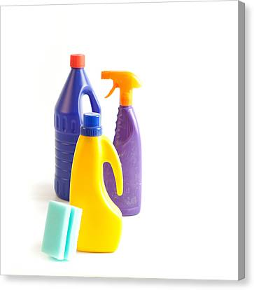 Cleaning Canvas Print by Tom Gowanlock