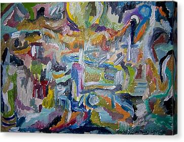 Cleansing Of The Mind Canvas Print by Timothy  Foley