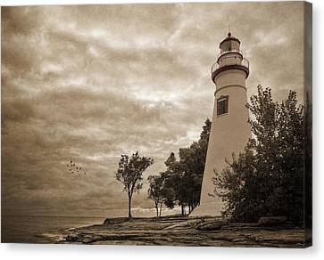 Clearing Storm Canvas Print by Dale Kincaid
