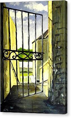 Clifden Gateway Co. Galway Canvas Print