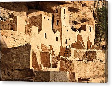 Cliff Palace Canvas Print by Adam Pender