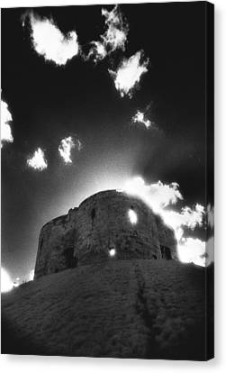 Cliffords Tower Canvas Print by Simon Marsden