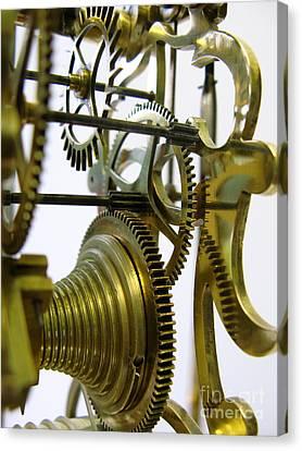 Clockwork Canvas Print by John Chatterley