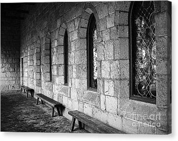 Cloisters Canvas Print by Maria Scarfone