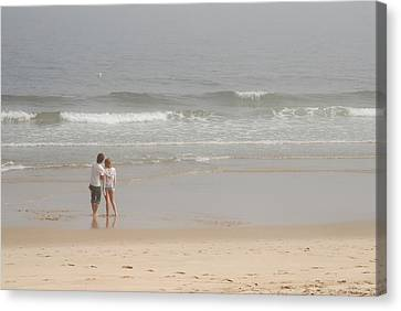 Close To You - Jersey Shore Canvas Print by Angie Tirado