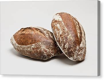 Close Up Of Loaves Of Bread Canvas Print