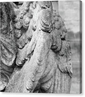 Close Up Of Wing Of Statue, Germany Canvas Print by This Is About My Way To See Light & Form In 2 Dimensions