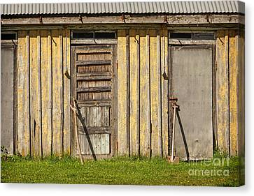 Closed Doors Canvas Print by Lutz Baar