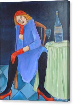 Closing Time Canvas Print by MaryAnn Ceballos