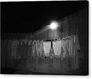 Canvas Print featuring the photograph Clothes 2 by Beto Machado