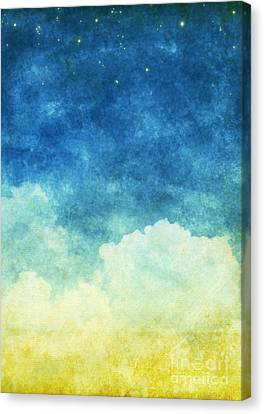 Cloud And Sky Canvas Print by Setsiri Silapasuwanchai