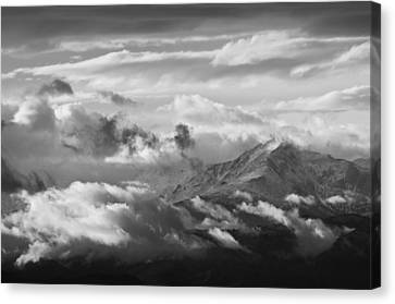 Cloud Art Canvas Print by Colleen Coccia