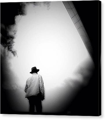 Igersoftheday Canvas Print - Cloud Cowboy - Concrete Jungle by Robbert Ter Weijden
