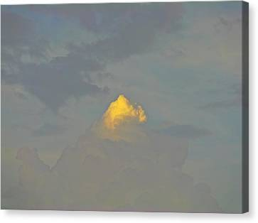 Cloud Of Glory Canvas Print by Peter P G