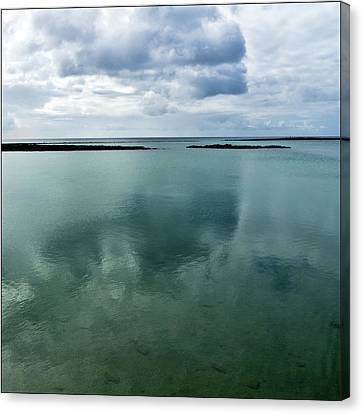 Cloud Reflections Canvas Print by Kimberly Jansen Photography
