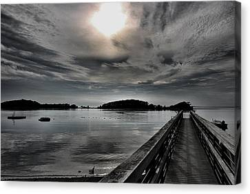 Cloud Unexpected Canvas Print by Lori Cooney