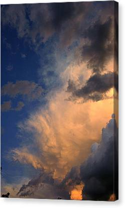 Clouds In The Spring Sky Canvas Print