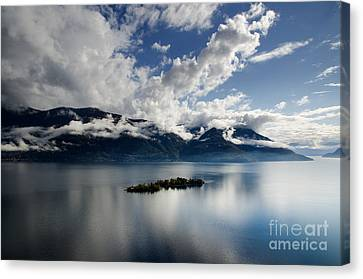Clouds Over Islands Canvas Print by Mats Silvan