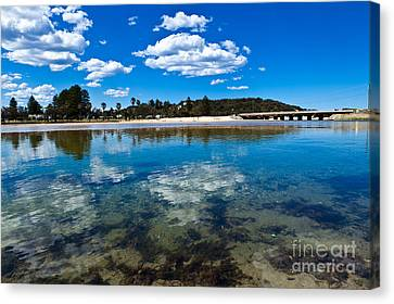 Clouds Over Narrabeen Lake Canvas Print