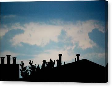 Clouds Canvas Print by Shweta Singh