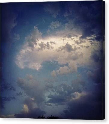 #clouds #sky #nature #andrography Canvas Print by Kel Hill