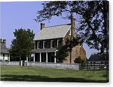 Clover Hill Tavern Appomattox Virginia Canvas Print by Teresa Mucha