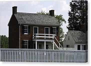 Clover Hill Tavern Kitchen Appomattox Virginia Canvas Print by Teresa Mucha