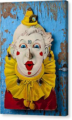 Clown Toy Game Canvas Print by Garry Gay