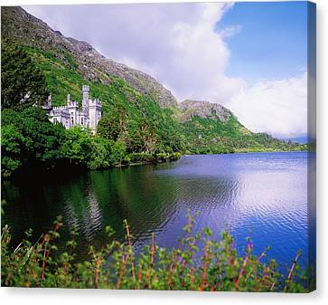 Co Galway, Ireland, Kylemore Abbey Canvas Print by The Irish Image Collection